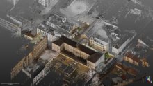 Relevés architecturaux en scanner laser 3D
